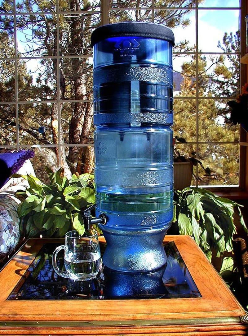 Berkey Light water purification system can remove fluoride from water