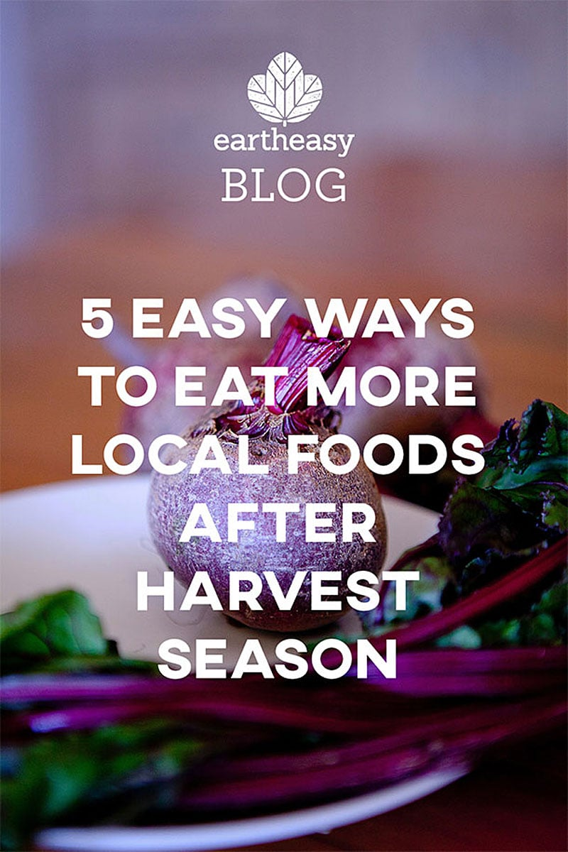 Eartheasy Blog - 5 Easy Ways to Eat More Local Foods After Harvest Season