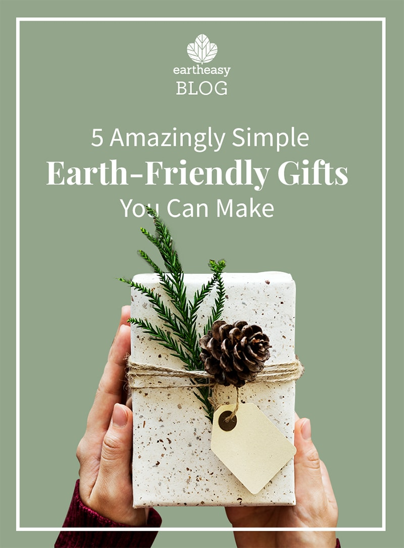 5 Amazingly Simple Earth-Friendly Gifts You Can Make