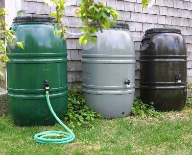 rain barrel catchment systems