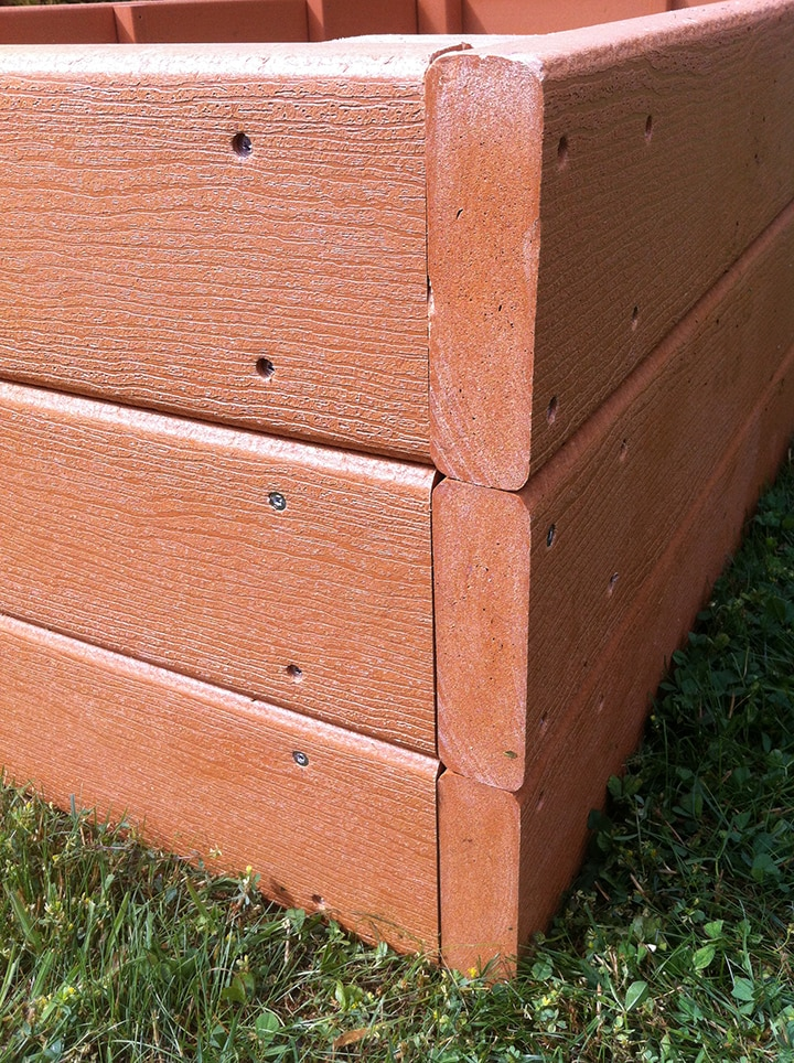 Cedar vs  Recycled Plastic vs  Composite Raised Garden Beds