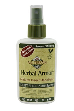 Herbal Armor natural mosquito repellent