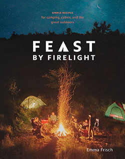 book cover for Feast by Firelight, by Emma Frisch