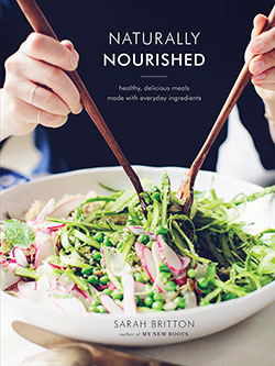 book cover for Naturally Nourished by Sarah Britton