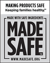 Made Safe certified product label