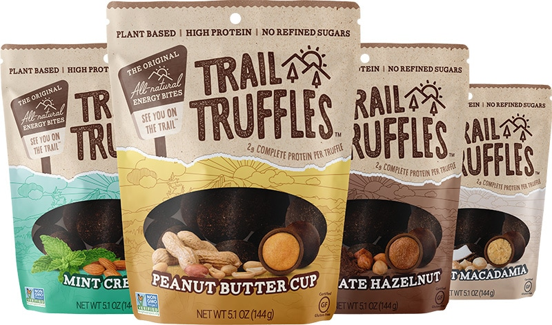 Trail Truffles for camping
