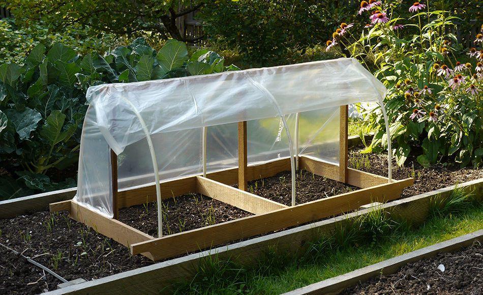 building a garden bed. Build A Portable Garden Cloche Building Bed